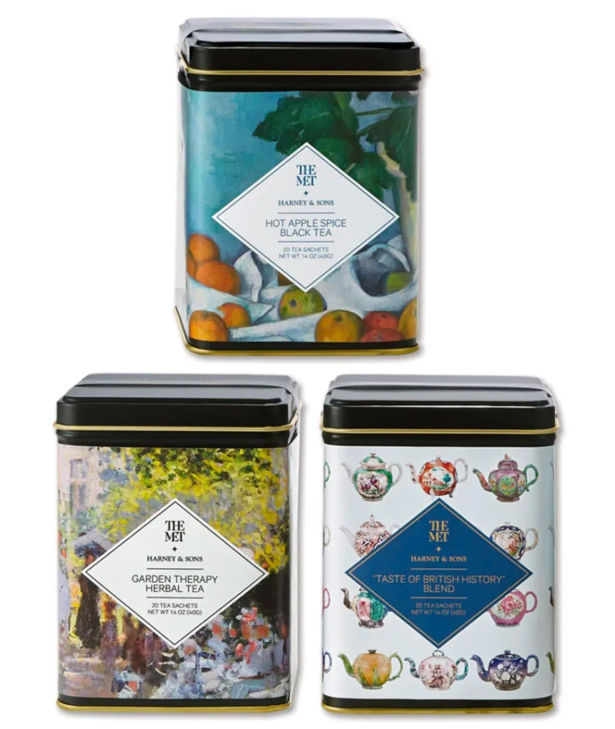 Harney and Sons three tins